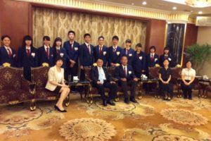 江蘇省人民対外友好協会主催歓迎会