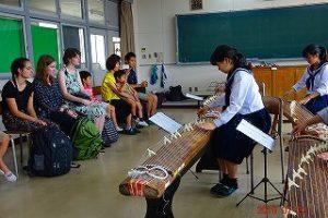 箏曲部での活動 (1)
