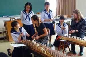 箏曲部での活動