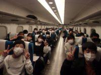 新幹線の中の様子