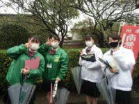 松島高校の皆さん