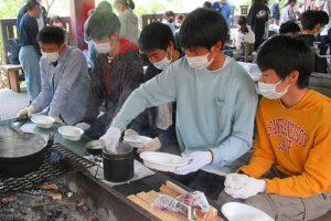 飯盒炊飯の様子(3)