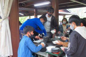 飯盒炊飯の様子(4)