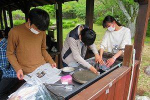 飯盒炊飯の様子(5)